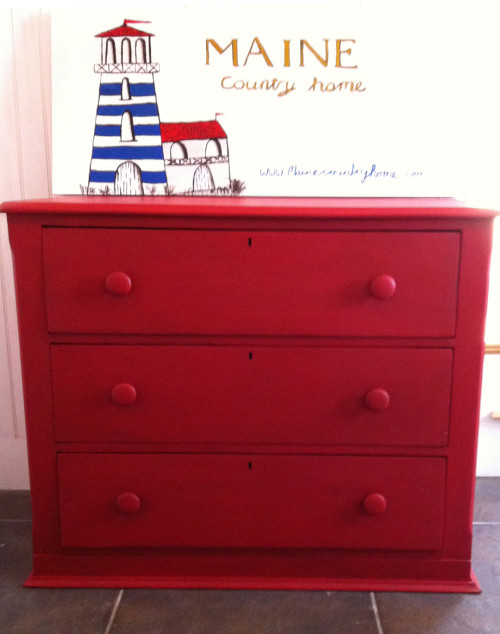 Miss Mustard Seed Tricycle Dresser
