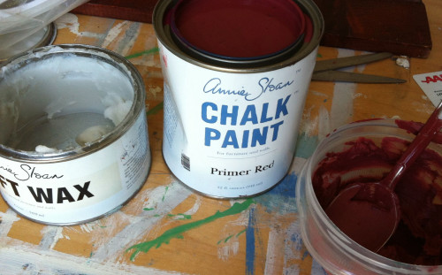 Mixing Chalk Paint with Soft Wax – Part 1