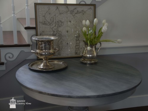 Faux Zinc Table