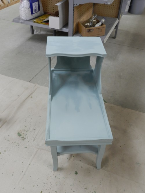 end tables with chalk paint
