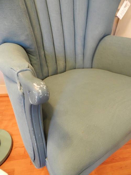 painting upholstery after