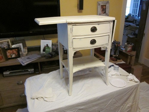 old white with distressing