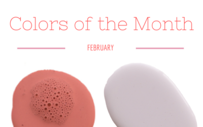 February colors of the month
