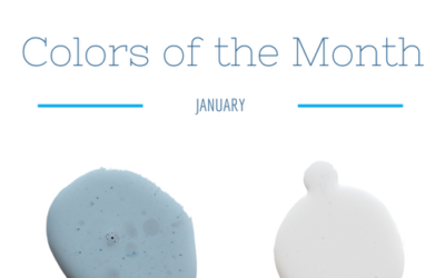 January colors of the month