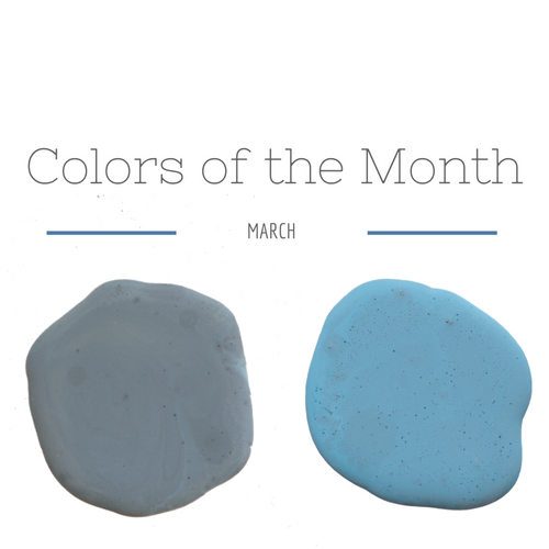 March colors of the month