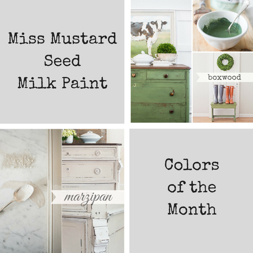 Color Of The Month February 2016: Miss Mustard Seed Colors Of The Month